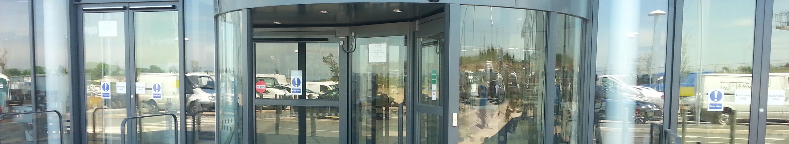 Automatic door servicing
