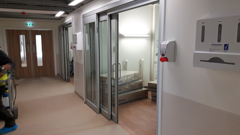 Healthcare doors by Horton Automatics