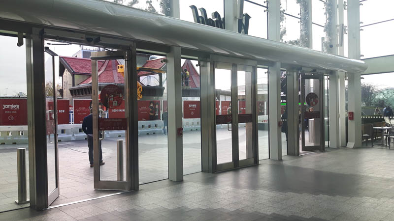 Automatic door servicing in the UK